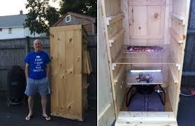 home built smoker plans my home built smokehouse barbecuebible com