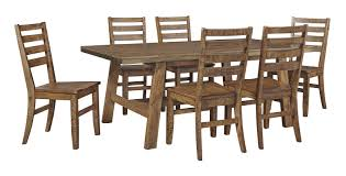 laurel foundry modern farmhouse desjardins 7 piece dining set