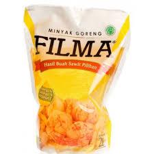 Minyak Filma 2 Liter detil produk filma minyak goreng reffil 2 liter