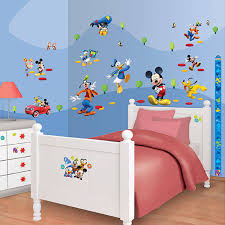 mickey mouse clubhouse bedroom walltastic disney mickey mouse clubhouse room decor kit 41448