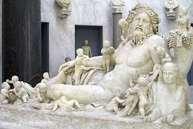 Famous Greek Statues River God Nile Ancient Greco Roman Statue