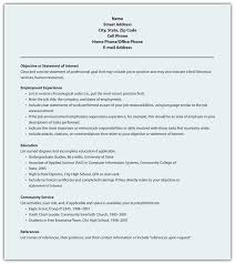 Sample Objectives In A Resume by 9 5 Résumé Business Communication For Success