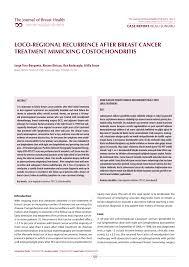 Breast Meme - pdf case report olgu sunumu loco regional recurrence after breast