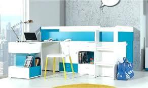 lit bureau enfant lit bureau enfant lit enfant mezzanine cargo blanc 3