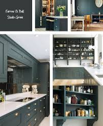 how to paint cabinets with farrow and farrow studio green interiors by color