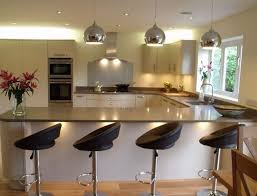 kitchens with breakfast bar designs intended for desire