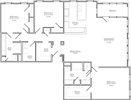 Simple One Story House Plans by 100 One Story Floor Plans 100 Large One Story Floor Plans