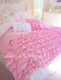 Girls Queen Size Bedding Sets by House Beautiful 6 Piece Lace Ruffle Bedding Set Awesome Little