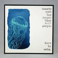 jellyfish stamp visible image