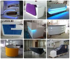 L Reception Desk by Luxury Reception Counter Modern Front Desk Design L Shaped