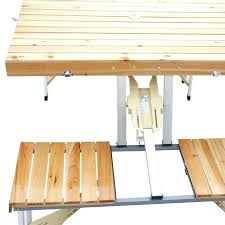 here are folding picnic table with chair aluminium u2013 novoch me