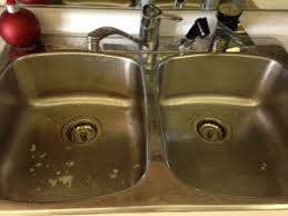 The Fastest And Easiest Way To Cleaning Dirty Kitchen Sinks I - Dirty kitchen sink