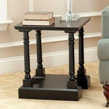 High End Home Decor Stores by Safavieh Raven Distressed Cream Storage End Table Amh5703c The