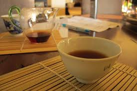 nothing like relaxing in a nothing like relaxing with a cup of thick ripe puerh tea