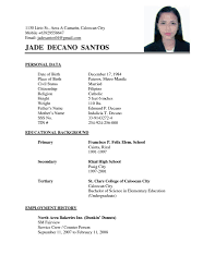 free simple resume templates simple resume exles basic appication letter inside amazing