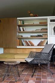 Bookcase Bench 013 Modern Living Room Built Ins Img1147 Mid Century Modern