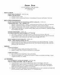 Interpersonal Skills Resume Example by College Resume 2 Resume Cv