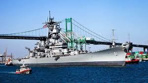 Bathtub Battleship Battleship Iowa The Story Of An L A Icon Descubra Los Angeles