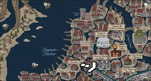 black temple map what is the house of black and white quora