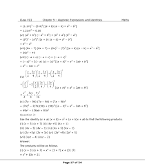 ncert solutions for class 8 maths chapter 9 algebraic expressions