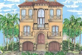 mediterranean style home plans mediterranean style house plan 3 beds 3 50 baths 2664 sq ft plan