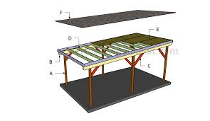 How To Build A Hexagon Picnic Table With Pictures Wikihow by Building A Flat Roof Carport Carports Pinterest Flat Roof