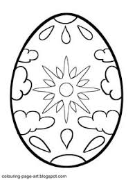 you can print this easter egg design coloring pages 04 and color