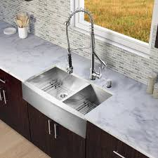 awesome stainless steel double bowl farmhouse sink vigo industries