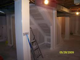 Finished Basement Cost Per Square Foot by How Much To Finish Basement Cheap An Unfinished Basement Filled