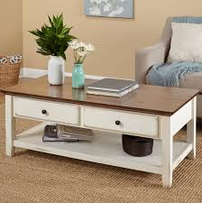 White Distressed Coffee Table White Distressed Coffee Table Christian S Table