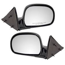 amazon com driver and passenger manual side view mirrors below