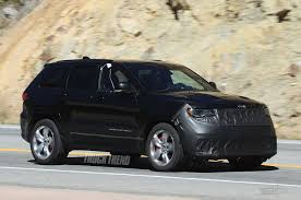 2018 jeep compass trailhawk price spied 2018 jeep grand cherokee srt trackhawk underbody images