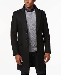 michael michael kors belmont slim fit overcoat coats jackets