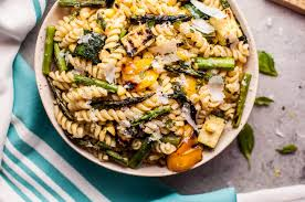 grilled summer vegetable pasta salad u2022 salt u0026 lavender