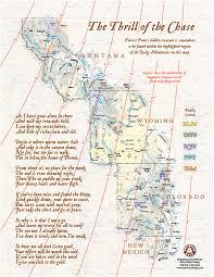 map ot forrest fenn s treasure and benchmark maps benchmark maps