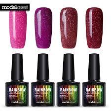 online get cheap glitter pink nail polish aliexpress com