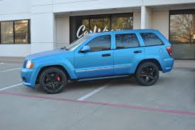 matte green jeep grand cherokee matte blue metallic jeep grand cherokee color change wrap car