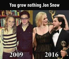 Jon Snow Memes - game of thrones quotes you grow nothing jon snow