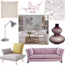 Pink Living Room Ideas Grey And Pink Living Room How To Decorate With Grey Sybaritic