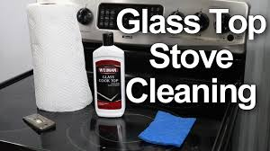 Clean Electric Cooktop Glass Top Stove Cleaning 1 Best Method Youtube