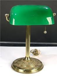 18 inch l shade traditional bankers desk l i so want to get one of those in green