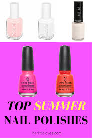 top summer nail polishes for 2017