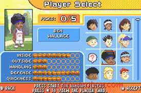 Backyard Basketball Pc by Game Boy Advance Backyard Sports Basketball 2007 Noiseredux Vs