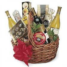christmas wine gift baskets gift basket wine christmas t basket clipart border clipartfest 3