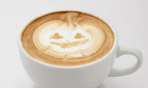 halloween latte art is a trick and a treat extra crispy