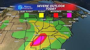 Central Ohio Map by Severe Weather Possible Tuesday In West Central Ohio Beyond The