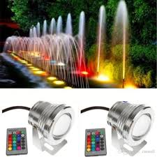 best submersible pond lights best waterproof led underwater light changing rgb led pool pond