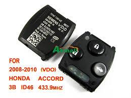 2008 honda accord key vdo 2008 2010 honda accord 433 9mhz remote interior 3 buttons