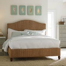 Pottery Barn Beds Bedroom Fascinating Full Size Pottery Barn Seagrass Headboard Bed
