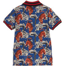 Gucci Clothes For Baby Boy Boys Bengal Tiger Polo Shirt Childrensalon